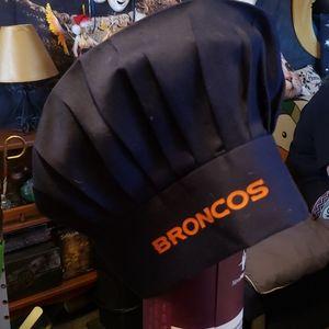 Denver Broncos chef hat